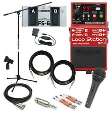 Boss RC-3 Loop Station Pedal COMPLETE PEDAL PAK