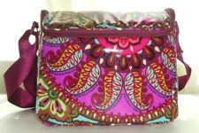 NWT Vera Bradley STAY COOLER RESORT MEDALLION Lunch Box Bag Tote