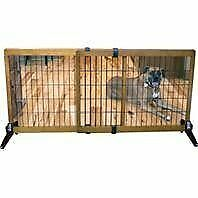 Freestanding 28 Inch Tall EXTRA WIDE Pet Gate