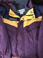 Vintage Columbia sport colorblock pullover jacket starter style size medium mens