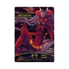 Demon Token (Black 6/6) - Tokens for Magic the Gathering - MTG - Mint