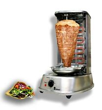 Electric Multifunctional Vertical Rotisserie Grill Oven device Stand Shawarma