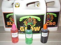Advanced Nutrients ~ Micro Grow & Bloom ~ 3 oz Liquid ~ PH Perfect ~ Hydroponics