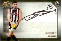 2011 Select AFL Champions Stars Authentic Signature Card SS3 Darren Jolly-Coll.