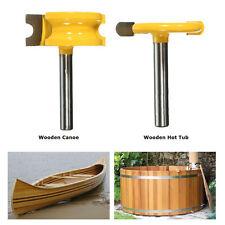 2PCS 1/4'' Shank 1/4'' Dia Canoe Flute &Bead Router Bit Cutter Woodworking Tools