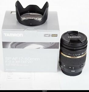 Tamron SP AF17-50mm f/2.8 XR Di II LD Aspherical [IF] Canon EF  Mint Box
