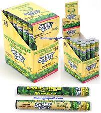 FULL BOX Cyclones Sugarcane Hemp Wraps Limited Edition Free Shipping NO TOBACCO