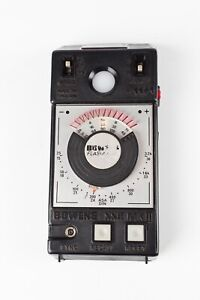 Bowens SSR Mk2 Flash Meter with Case. An Easy to Use Incident Light Flash Meter.