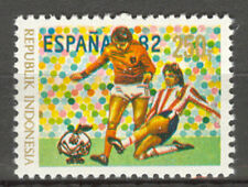 INDONESIA 1982 ZBL SERIE 1117 SOCCER VOETBAL MNH