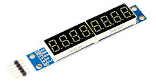 Digitales 8 segment LED Display Modul MAX7219 Treiber für Arduino Raspberry Pi