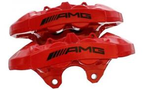 for Mercedes C Class W204 C63 AMG Rear Brake Calipers  Red 20.8588.01 20.8588.02