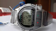 NOS RARE CASIO VINTAGE COLLECTION DB-V300-7 VOICE RECORDER LCD DIGITAL WATCH UHR