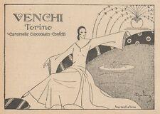 Z1574 Cioccolato VENCHI - Torino - Pubblicità d'epoca - 1926 Old advertising