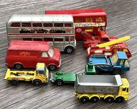 Vintage Cars, London Bus, Van, Fire Engine, Lorries Corgi Lesney Dinky Matchbox