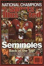 Jameis Winston Sports Illustrated Auto Replica Poster Florida State Seminoles