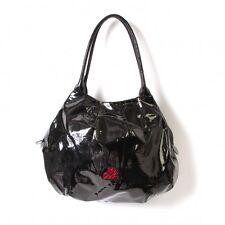 agnes b. Enamel shoulder bag(K-50115)