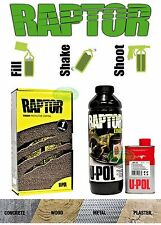 RAPTOR BY U-POL UPOL TINTABLE BED LINER KIT 2 PACK URETHANE COATING