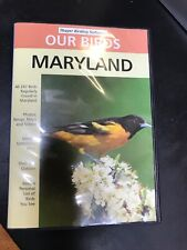 Our Birds: Maryland Pc Cd identify photos songs maps videos quizzes ornithology