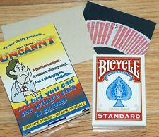 Uncanny by Mark Elsdon (Bicycle backs) --dual prediction of card & number   TMGS