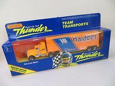 MATCHBOX CONVOY Kenworth Racing Team Transporter HARDEE'S 'DAYS OF THUNDER' MIB