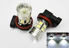 2x 9006 HB4 CREE Q5 12 SMD LED Projector Fog Driving Light Bulb White For DODGE