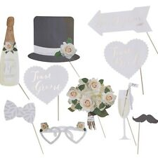 Beautiful Botanics Wedding Photo Booth Prop Set, Photo Props, Wedding Decor