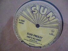 Elvis Presley- That´s all right- Sun- 10 inch single- 50´th- Anniversity- TOP