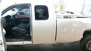 07 08 09 10 11 12 13 CHEVROLET SILVERADO 2500 DRIVER/LEFT REAR MANUAL DOOR OEM
