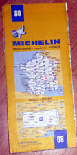 Carte MICHELIN N° 80 - Rodez - Nîmes 1983