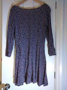Ladies Pretty Floral Print Short Dress EUR 38 SPRINGFIELD Boho
