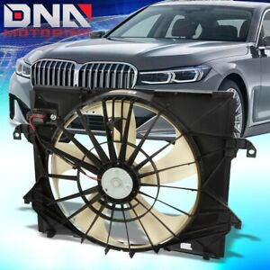 FOR 2009-2012 DODGE RAM TRUCK 1500 FACTORY STYLE RADIATOR COOLING FAN ASSEMBLY