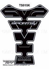 Suzuki SV650 SV1000 Black Motorcycle Tank Pad Tankpad Motografix Gel Protector