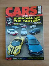 Cars and Car Conversions. CCC. Sept 2003. Fiesta Turbo, VTEC Mini, Evo 8, Elise