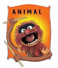 Muppets Animal # 10 - 8 x 10 T Shirt Iron on Transfer -