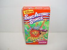 Disneys Sing Along Songs The Lion King Circle of Life VHS Video Tape Movie