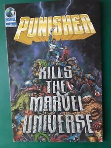 Punisher Kills the Marvel Universe TPB 1st Print