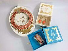 RARE Limited Addition Anna Dello Russo for H&M Set Of Jewellery: Brac+Neck+Earri