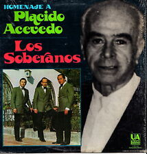 "PLACIDO ACEVEDO - Los Soberanos 1972 (Vinile e Cover=Mint) LP 12"" USA Import"