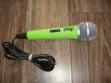 iRig Voice MICROPHONE Karaoke Singing MC Smartphone and Tablet Green