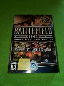 Battlefield 1942: World War II Anthology/EA Games PC, 2004 COMPLETE IN BOX/USED