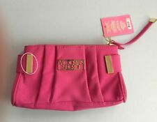 Victoria's Secret  Clutch Purse Dream Angels Faux Suede Color Pink New With Tag