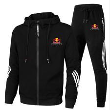 Red Bull Herren Trainingsanzug Hoodie und hose Freizeit Jogging Sport Anzug