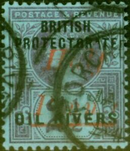 Oil Rivers 1893 1/2d on 2 1/2d SG21 Type 7 Fine Used