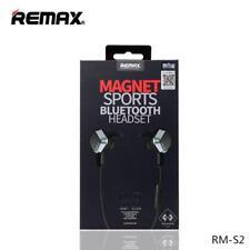 REMAX RM-S2 Magnet Sports Bluetooth 4.1 Earphone Universal Stereo Headphone