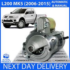 Se adapta a Mitsubishi L200 (KB4T) MK5 2.5 Di-D/DID Diesel 2006-2015 Motor De Arranque Nuevo