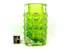 70´s Horst Tüselmann Design Ichendorf glass vase in a very rare colour  22 cm