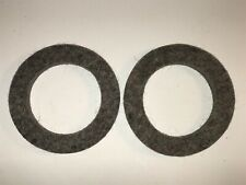 1928-31 Lincoln 8 Rear Wheel Felt Oil Seals Grease Retainers L3704B (Qty 2)