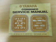 Werkstatthandbuch Yamaha LT2 LT3 CT1C AT2 AT3 Service manual / Manuel d`atellier