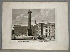 1818c.Inc/Rame.ROMA: COLONNA ANTONINA. par NIBBY - Parboni-Ruga.
