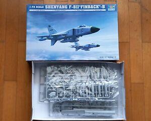 "TRUMPETER 1/72 SHENYANG F-8II ""FINBACK"""